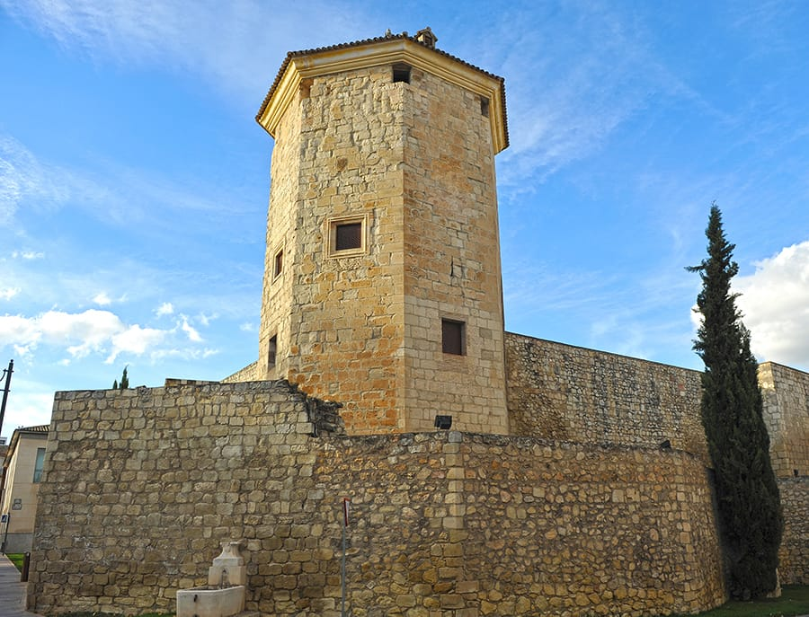 Boabdil Tower in the medieval Castle of Moral